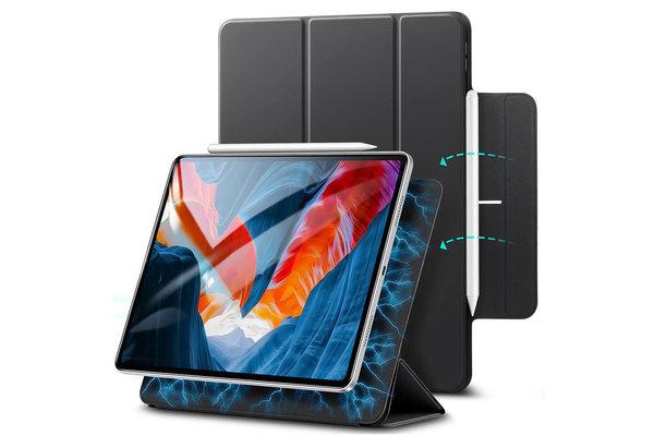 ESR ESR - Rebound Magnetic with Claps iPad Pro 2021 12.9-Inch Case zwart