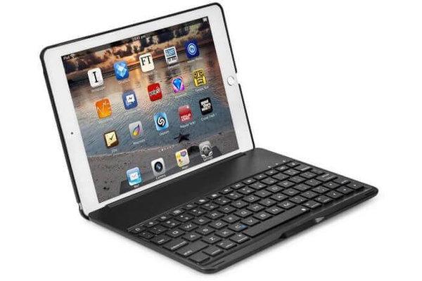iPadspullekes.nl iPad Air 2019 toetsenbord hoes zwart