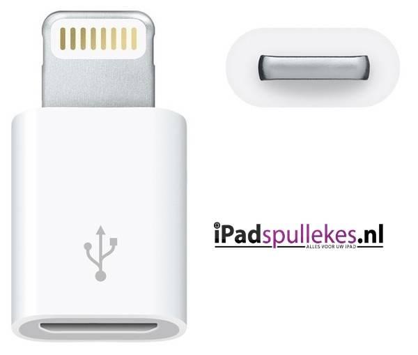 Apple maakt iPhone 5 Lightning naar micro-USB
