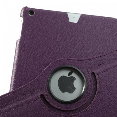 iPadspullekes.nl iPad Pro 12,9 hoes Paars leer