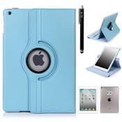 iPadspullekes.nl iPad Pro 12,9 hoes Licht blauw leer