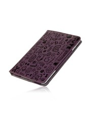 iPadspullekes.nl iPad Mini stand case Trendy leer paars