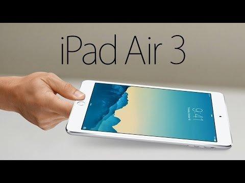 De nieuwe iPad Air 3