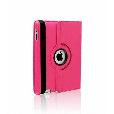 iPadspullekes.nl iPad Pro 9,7 hoes 360 graden roze leer