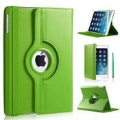 iPadspullekes.nl iPad Pro 9,7 hoes 360 graden groen leer