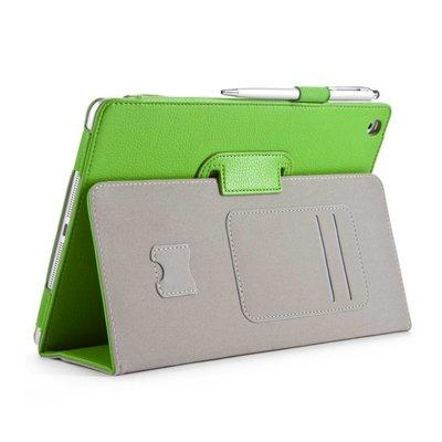 i-Blason Leather Slim Book Case for iPad Air groen