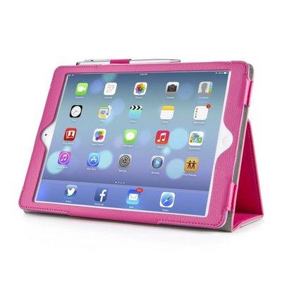 i-Blason Leather Slim Book Case for iPad Air roze