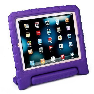 iPadspullekes.nl iPad Pro 12,9 Kids Cover paars