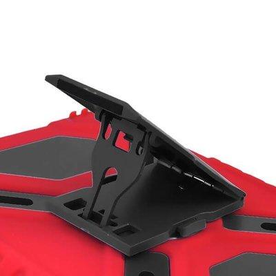 iPadspullekes.nl Spider Case voor iPad 2 3 4 rood/zwart