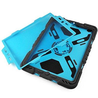 iPadspullekes.nl Spider Case voor iPad Air 2 zwart/blauw