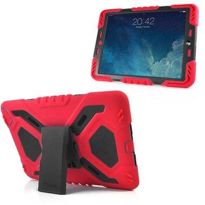 iPadspullekes.nl Spider Case voor iPad Air 2 rood/zwart
