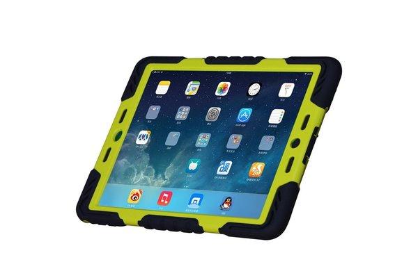 iPadspullekes.nl Spider Case voor iPad 2 3 4 zwart/groen
