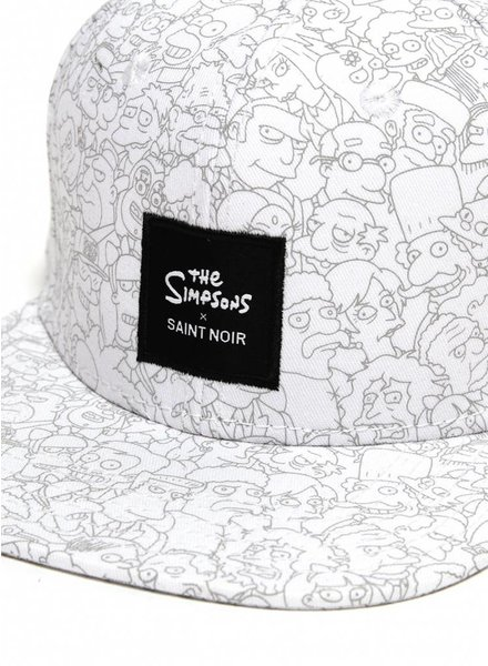 Snapback Cap Accessoire - Simpsons White - Simpsons Collection