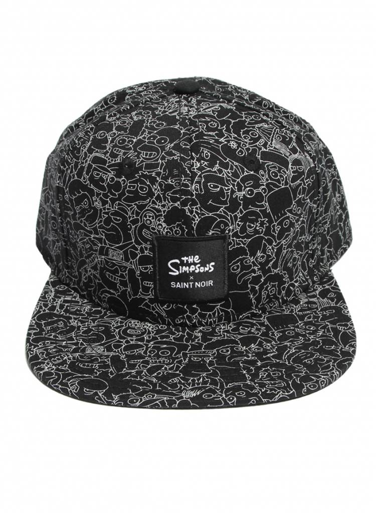 Snapback Cap Accessory - Simpsons Black - Simpsons Collection