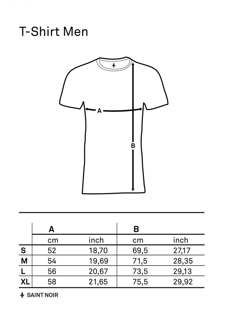 T-Shirt Men - Saint Noir - Saint Noir Berlin