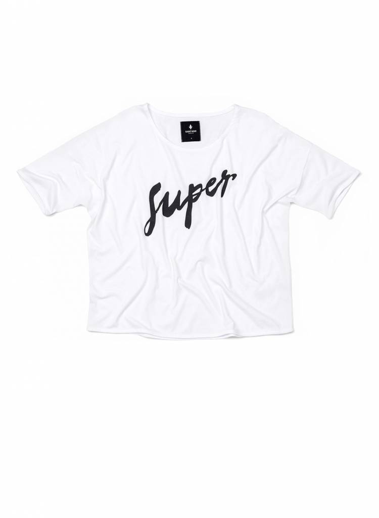 T-Shirt Loose Fit Damen - Super
