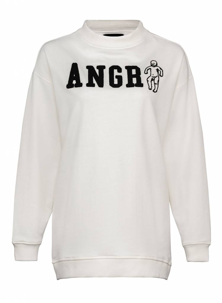 Sweatshirt Oversized Women - Angry