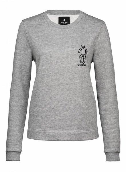 Sweatshirt Straight Fit Women - Boy