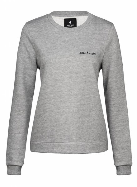 Sweatshirt Straight Fit Damen - New Noir