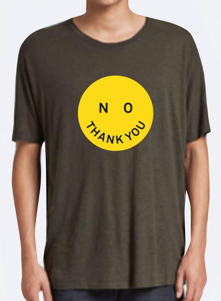 T-shirt Loose Fit Men - No Thank You