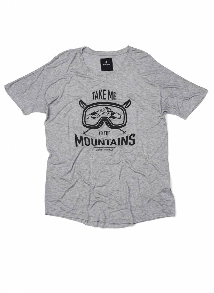 T-shirt Loose Fit Men - Mountains