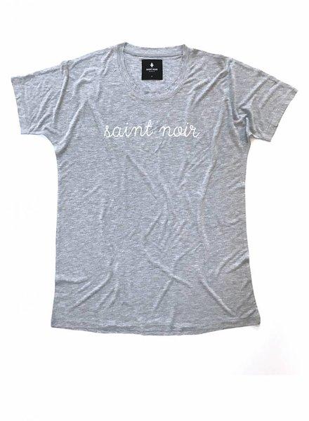 T-Shirt Loose Fit Herren - New Noir