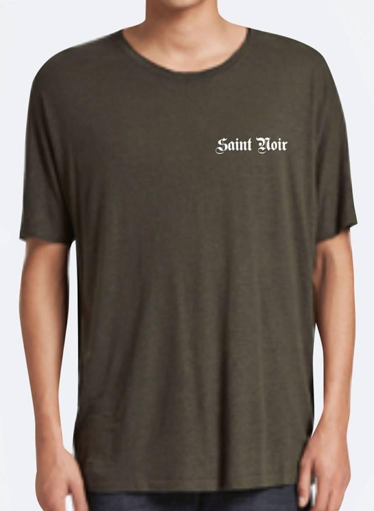 T-shirt Loose Fit Men - Old Noir