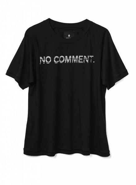 T-Shirt Super Cut Damen - No Comment