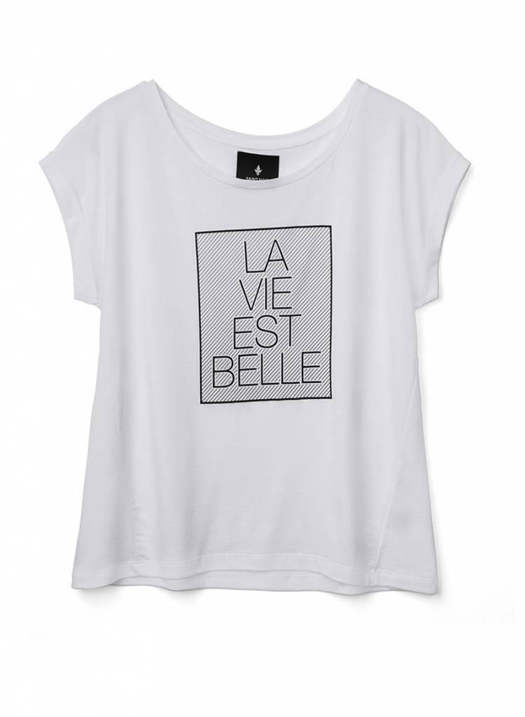 T-Shirt Round Neck Ladies - La Vie