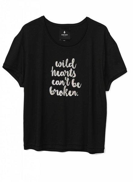 T-Shirt Light Fit Damen - Wild Hearts