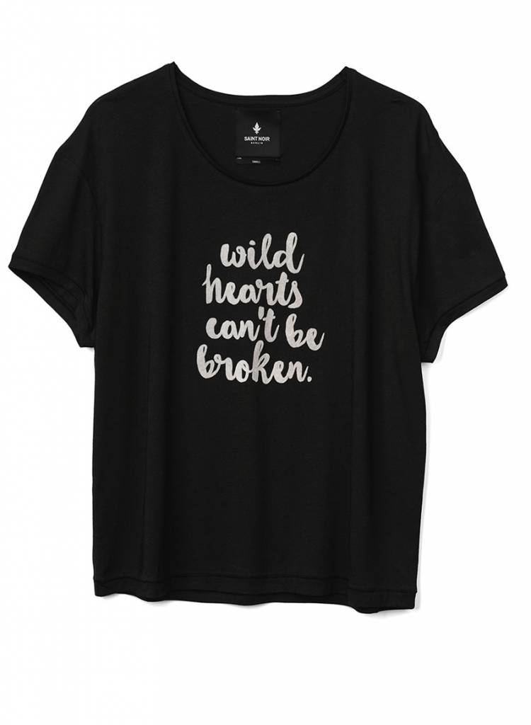 T-Shirt Light Fit Damen - Wild Hearts