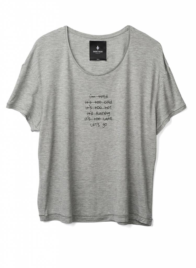 T-Shirt Light Fit Damen - I'm Tired