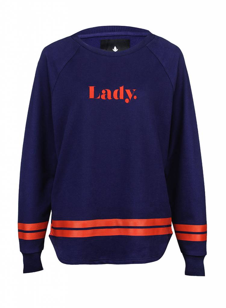 Sweatshirt Longback Damen - Lady