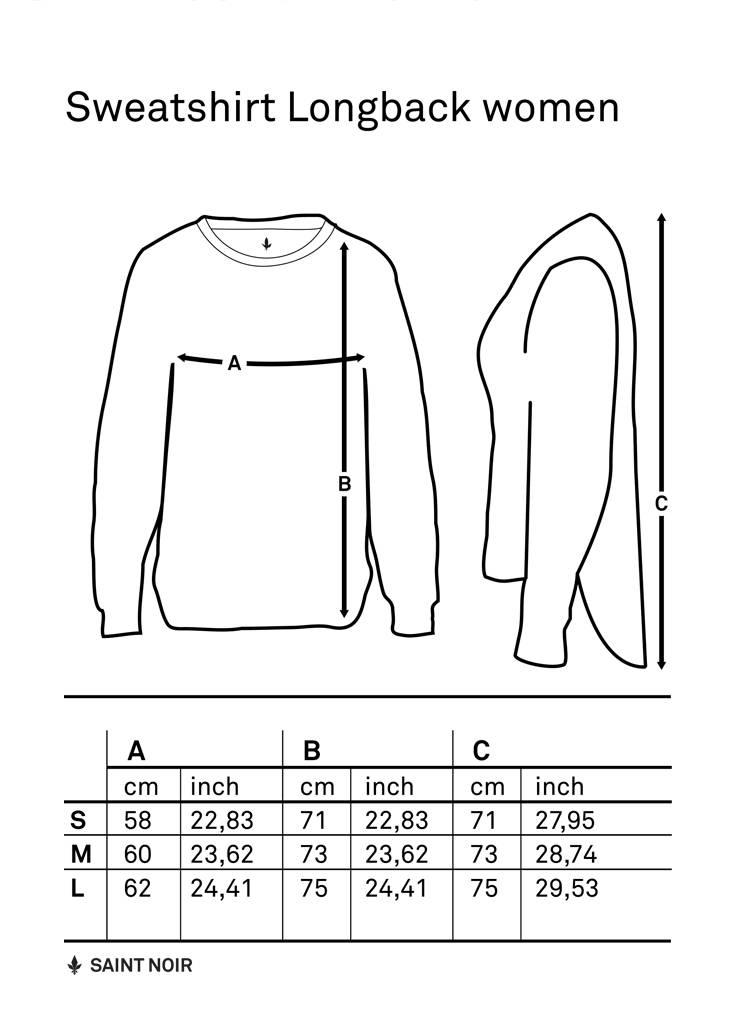 Sweatshirt Longback Women - Lady