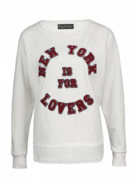 Sweatshirt Longback Damen - NY Lovers
