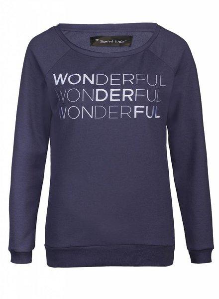 Sweatshirt Scoop Neck Ladies - Wonderful