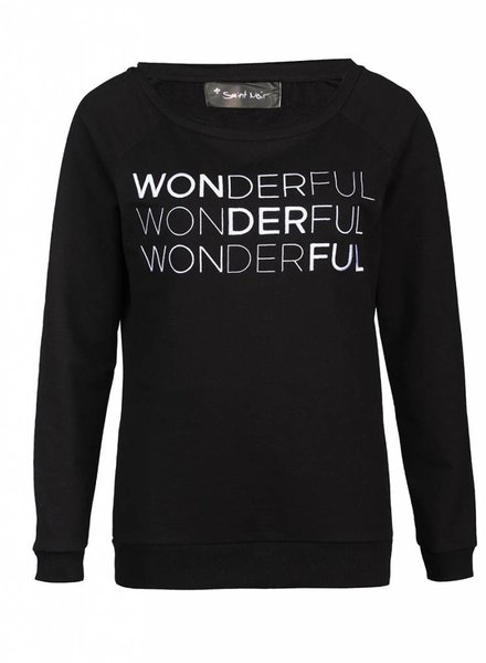 Sweatshirt Scoop Neck Ladies - Wonderful