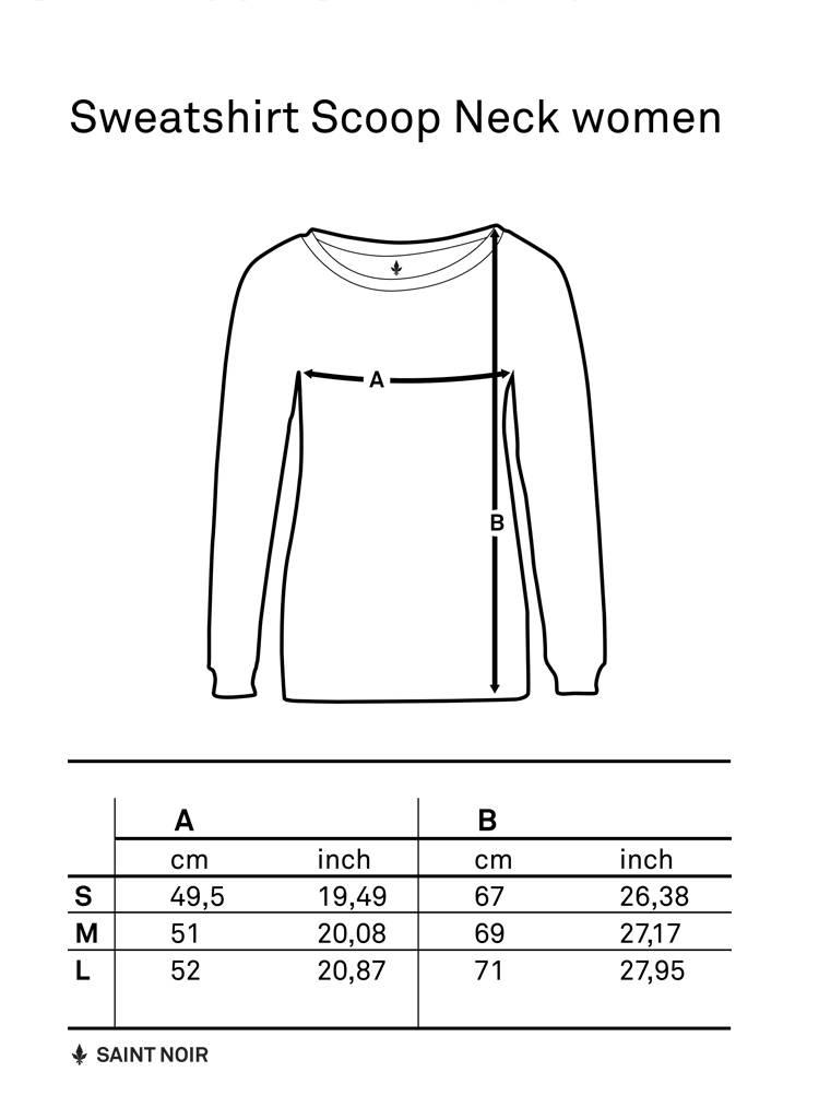 Sweatshirt Scoop Neck Ladies - The City 2