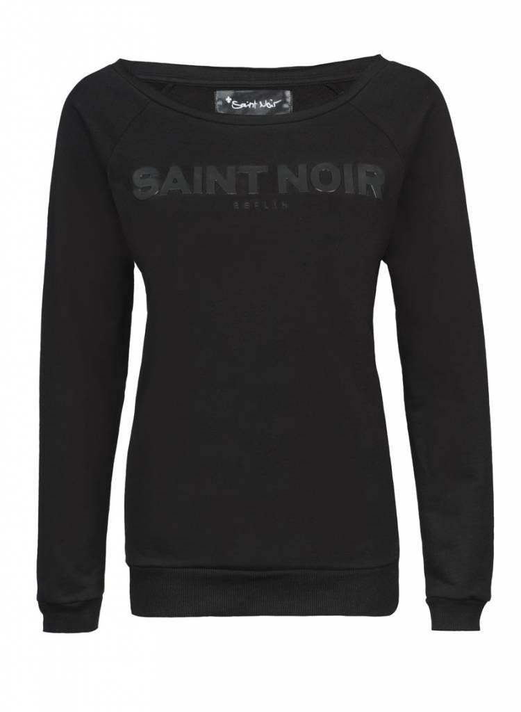 Sweatshirt Scoop Neck Damen - Saint Noir - Saint Noir Berlin