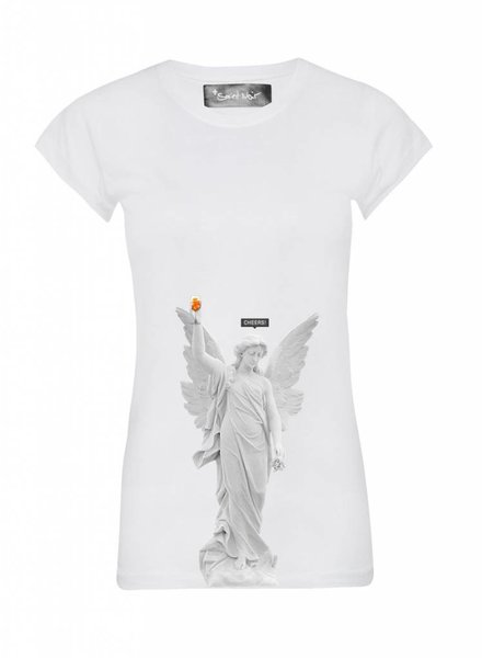 T-Shirt Skinny Cut Women - Cheers - Statue Collection
