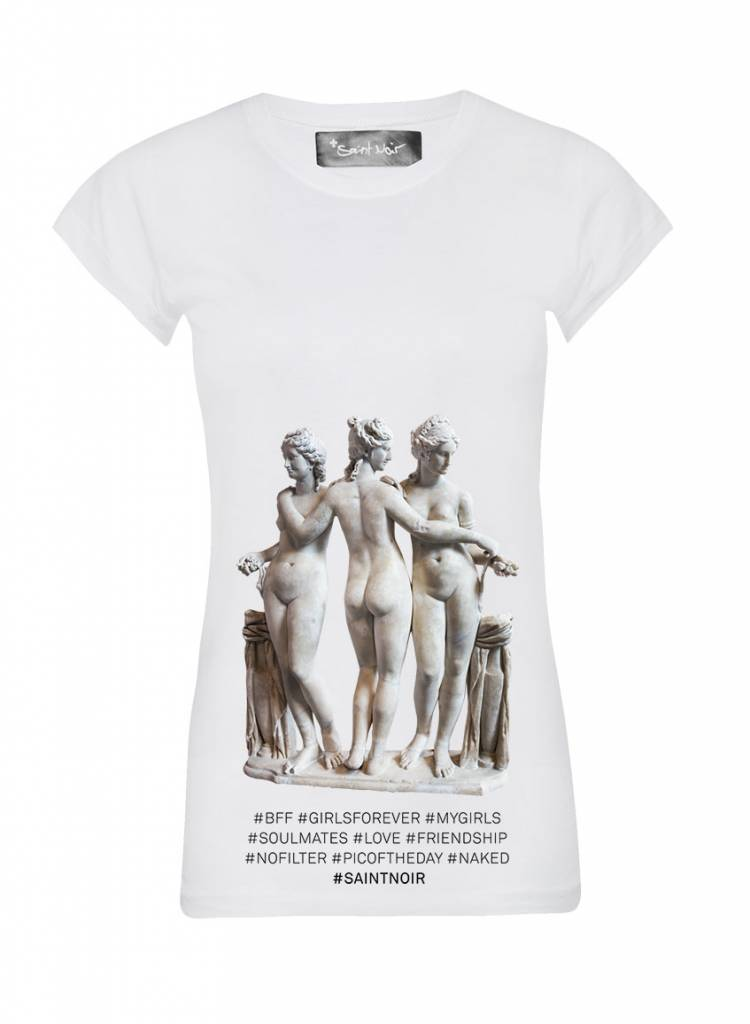 T-Shirt Skinny Cut Women - BFF - Statue Collection