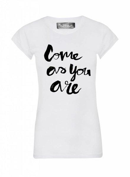 T-shirt Skinny Women Cut - Come As