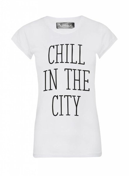 T-shirt Skinny Women Cut - The City