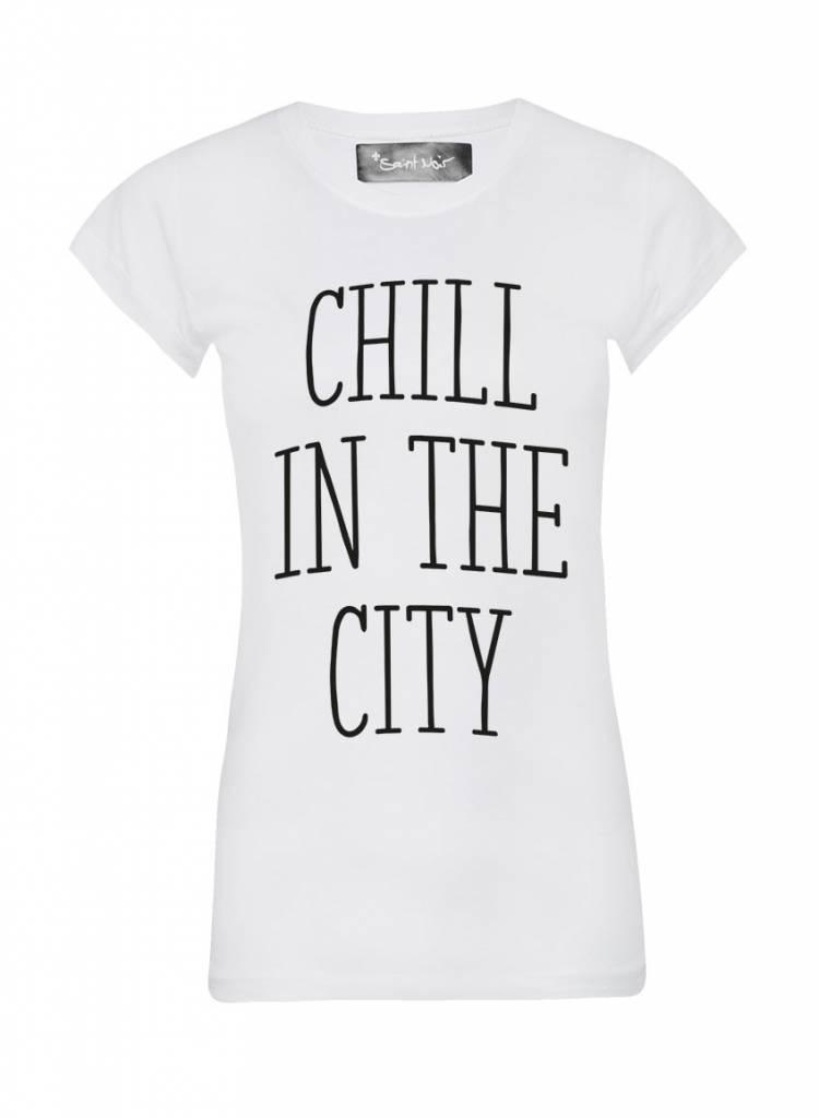 T-Shirt Skinny Cut Damen - The City