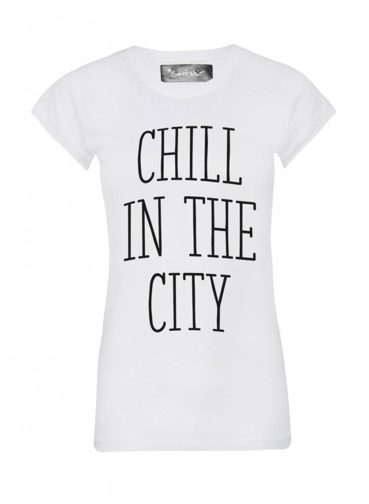T-shirt Skinny Women Cut - The City
