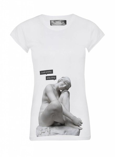 T-Shirt Skinny Cut Women - Look Pretty - Statue Collection