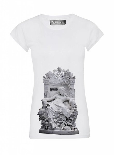 T-Shirt Skinny Cut Damen - Chill - Statue Collection
