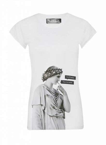 T-Shirt Skinny Cut Women - Nada - Statue Collection