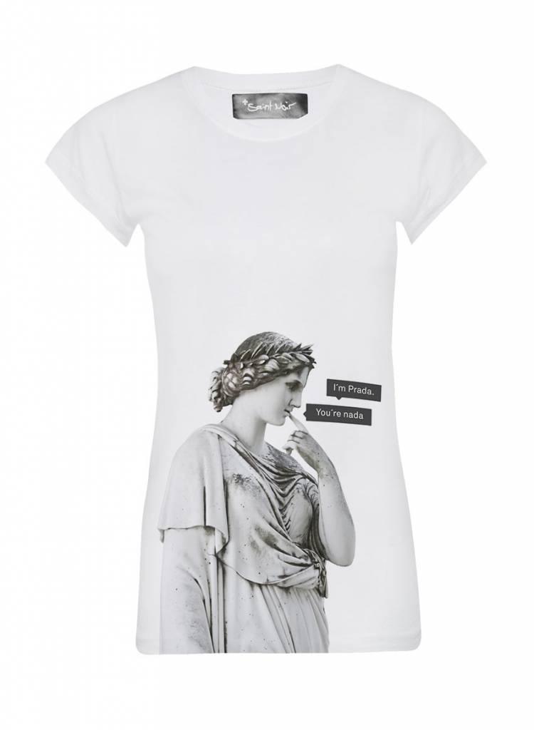 T-Shirt Skinny Cut Women - Nada - Statue Collection