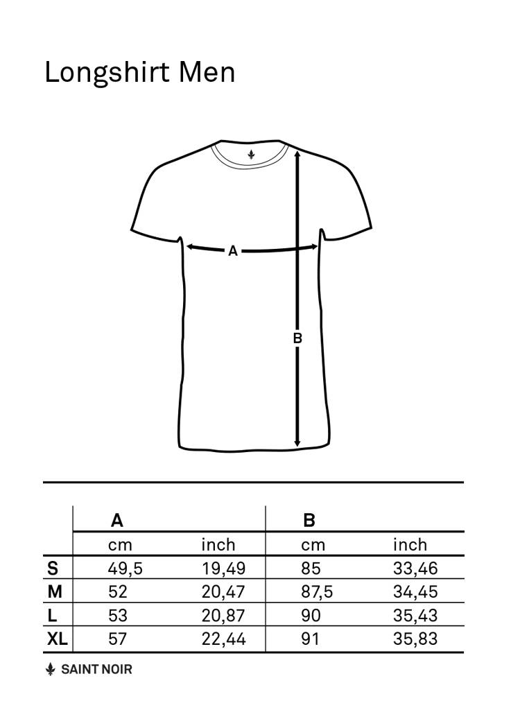 Long Shirt Men - Fleur-De-Lis